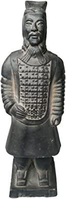 (Officer) - Tongma Terracotta Warriors, Ancient China Dynasty Qin Terracotta Warriors Statues Collectible Figurines Home Display Table Display Gift Multi Presentation (Officer)