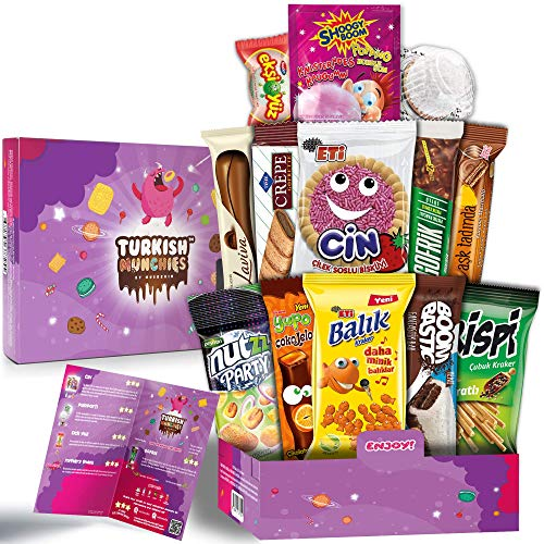 Midi Fantastic Premium International Snacks Box Variety Pack Care...