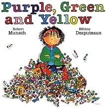 purple green and yellow robert munsch