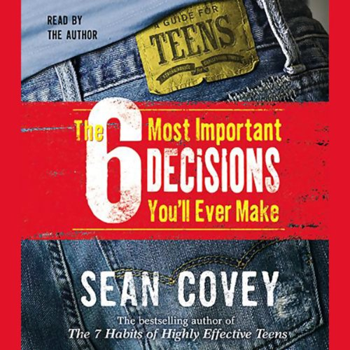 The 6 Most Important Decisions You'll Ever Make audiobook cover art