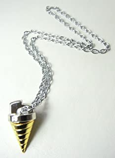 Gurren Lagann Core Drill alloy pendant necklace