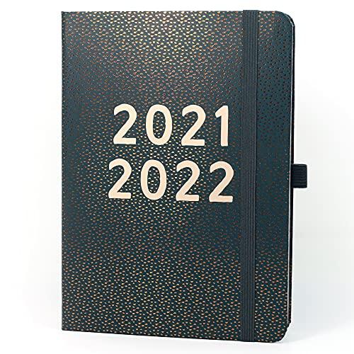 (en inglés) Agenda 2021 2022 Día por Página A5 Perfect Year de Boxclever Press. Agenda Escolar 2021-2022 Día por Página Agosto'21-Agosto'22. Agendas Escolares 2021-2022 con Listas.