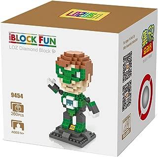 LOZUSA Cartoon Character 260 PCS Diamond Block Mini Figure Hero Micro Blocks Construction Model, Micro-Sized Building Set Parent-Child Games Building Blocks Children's Educational Toys