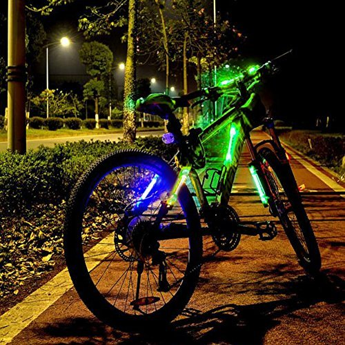 ACRATO Mountain Bike Reflective Gear Light, Cycling Night Safty Warning LED Light