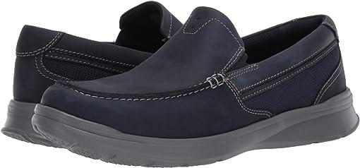 Navy Combi Leather
