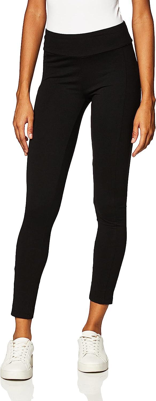 No Nonsense Women's Cotton Lounge Legging With Pocket Sockshosiery, -black, S