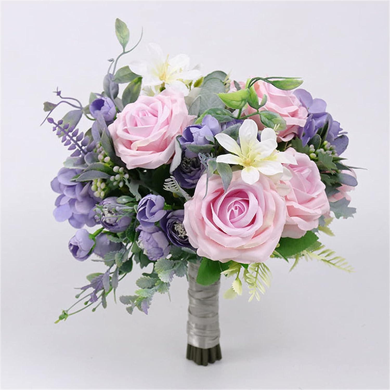 Wedding Max 61% OFF Romantic Bouquet Bride Bridal Easy-to-use Bridesmaid Bouquets Bouque