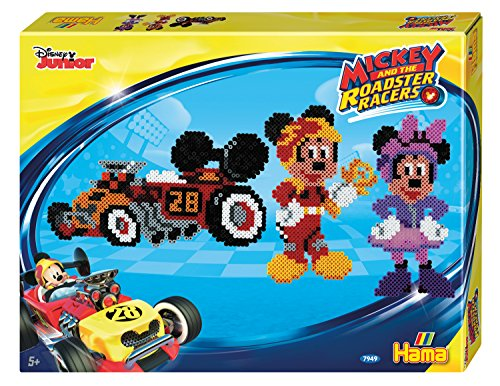 Hama Beads Disney Mickey y la Roadster Carreras Caja de Regalo