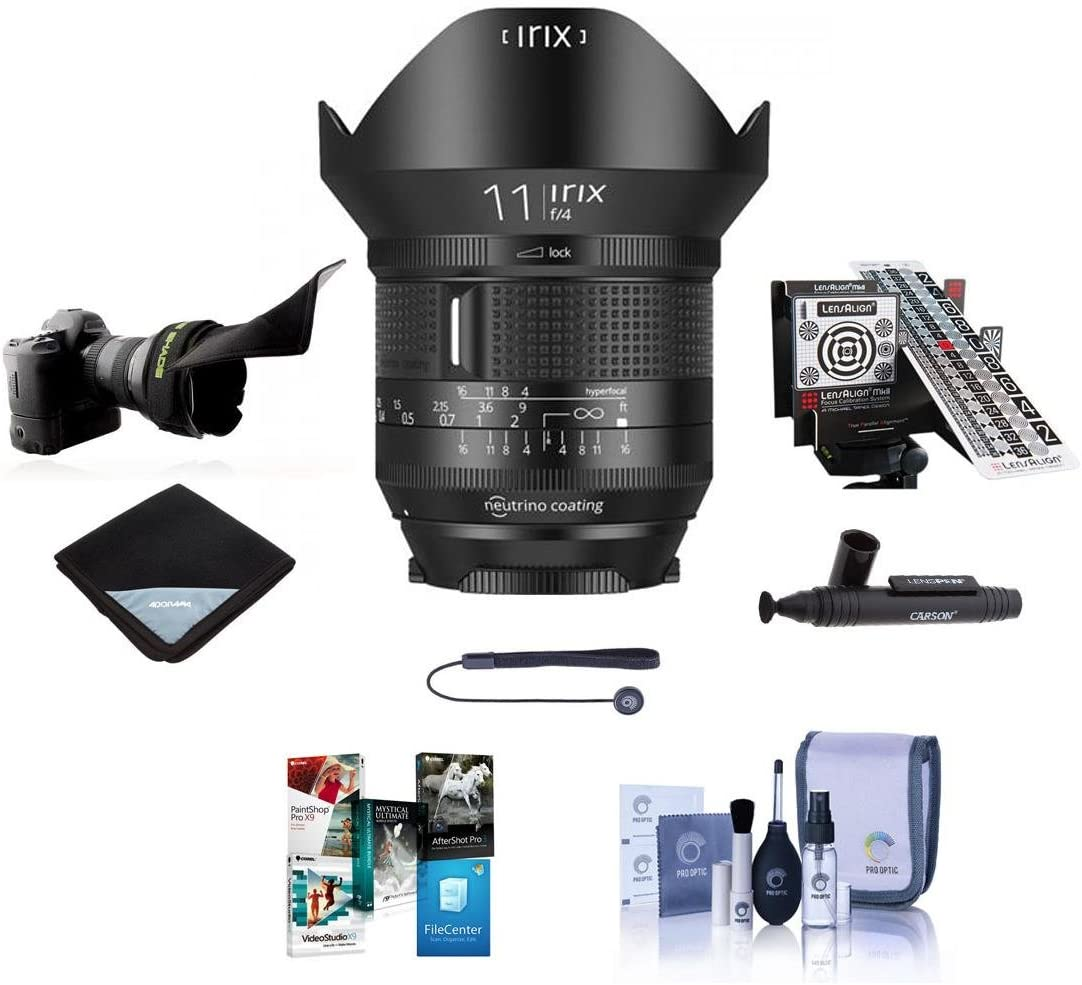 Recommendation Irix 11mm f 4.0 Firefly Raleigh Mall Lens for - Focus Bundle Manual Canon EF