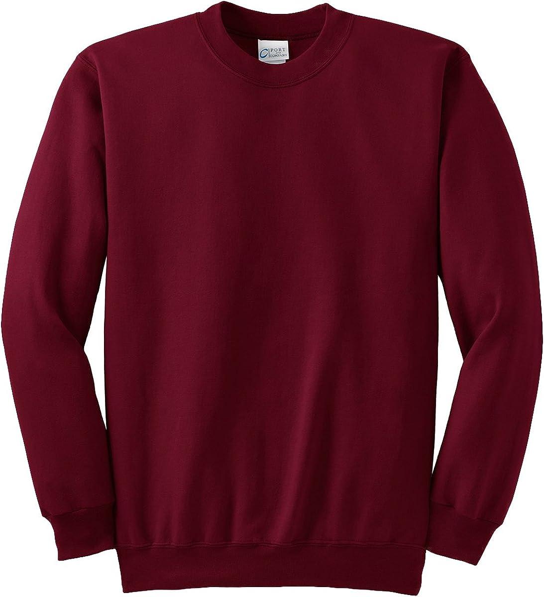 Port & Company Tall Ultimate Crewneck Sweatshirt. PC90T XX-Large Tall Athletic Heather