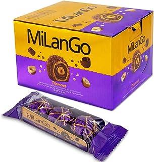 Sponsored Ad - Milango Diamond Fine Hazelnut Milk Chocolate, 3 Count, Pack of 12 Individually Wrapped Chocolate Christmas ...
