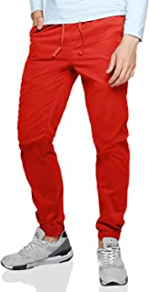 Men's Chino Jogger Pants