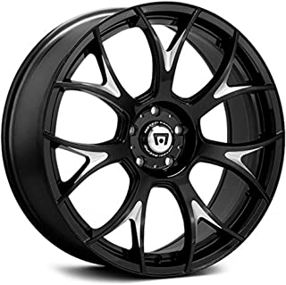 MOTEGI MR126 Gloss Black With Milled Accents Wheel with Painted (19 x 9.5 inches /0 x 57 mm, 32 mm Offset)