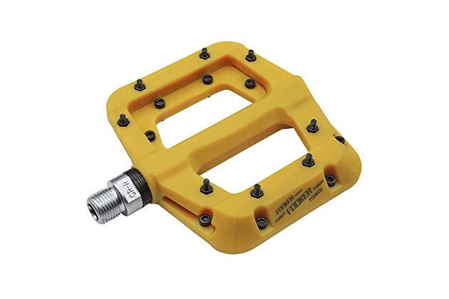 546f0728a5a FOOKER MTB Bike Pedal Nylon 3 Bearing Composite 9/16 Mountain Bike Pedals  High-Strength Non-Slip Bicycle Pedals Surface for Road BMX MTB Fixie  Bikesflat ...