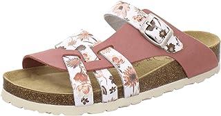 AFS-Schuhe 2122 - Pantofole da donna in vera pelle, di alta qualità, con suola Eva, made in Germany