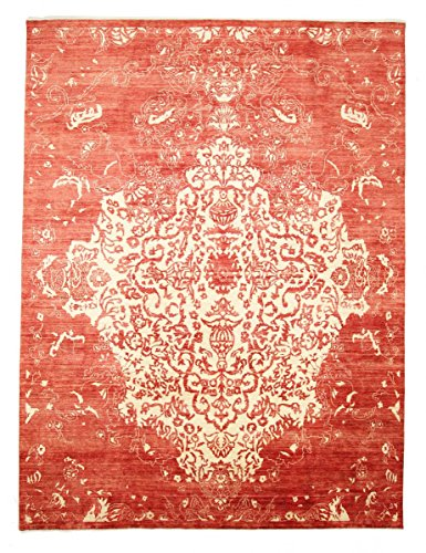 Nain Trading Amazona 357x275 Tapis Oriental Beige/Orange Noués à la Main Inde Design Moderne