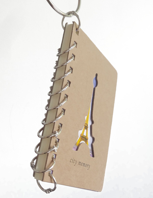 10x Metal Loose Binder Hinged Rings Keyrings for Scrapbooking Crafts 15mm
