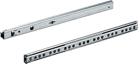 Hettich 9220237 kogelprecisie-uittrekbaar (laderail) KA 1730/410 incl. schroeven, belastbaar 10 kg, 1 paar, verzinkt