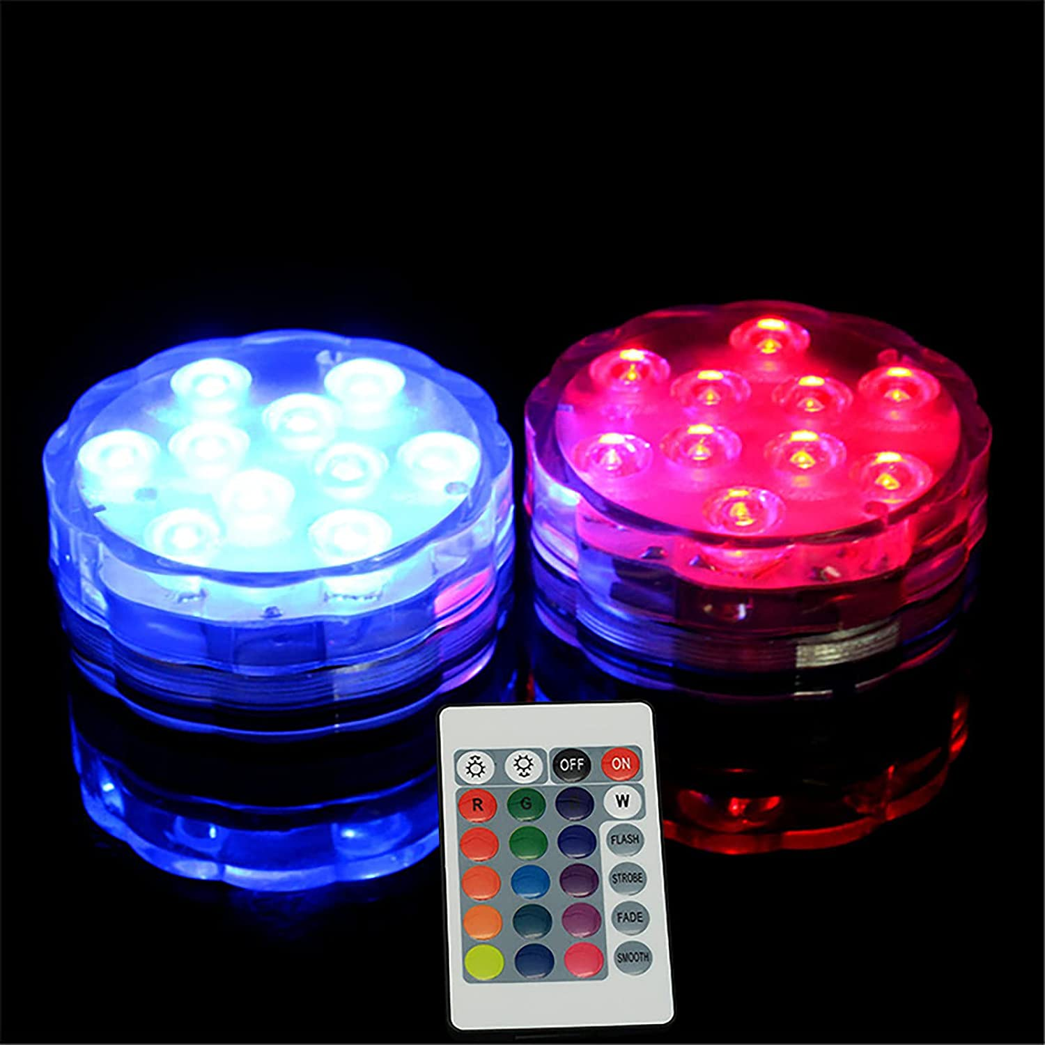 4 Pack Pool Lights outlet for Inground L Remote 55% OFF Control Waterproof