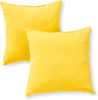 Greendale Home Fashions Indoor/Outdoor Accent Pillows, Sunbeam, Set of 2
