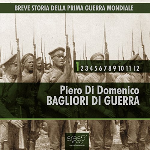 Breve storia della Prima Guerra Mondiale, Vol.1 [Short History of WWI, Vol. 1] audiobook cover art