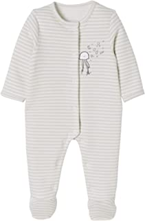 28ec7e73870e7 VERTBAUDET Lot de 2 pyjamas bébé en molleton imprimé pressionnés dos LOT  IVOIRE 12M - 74CM