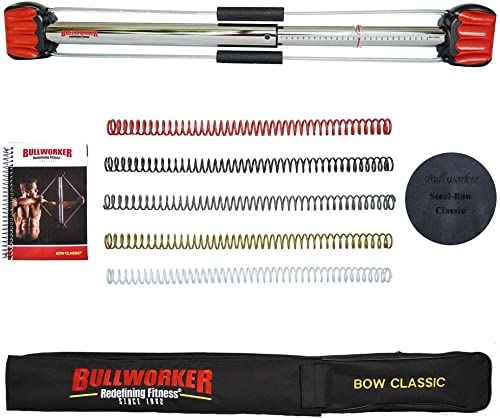 Bullworker Bow Classic: Total Body Fitness Home Exercise Equipment - Isometric