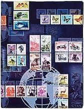 weinrot Briefmarkenalbum DIN A5 Pagna 30101-31 32 Seiten