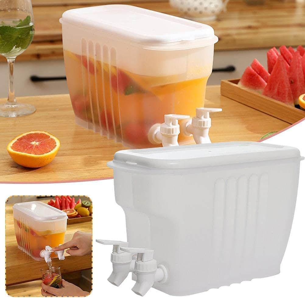 badewanne Fridge Drink Dispenser with Sale special price OFFicial mail order 2 Dispen Tap Water Plastic