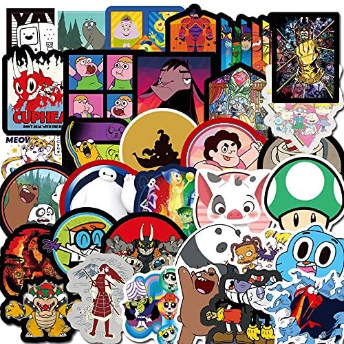 100 unids dibujos animados anime pegatinas lindo niños teléfono móvil taza de agua skate decoración impermeable graffiti vinilo pegatinas