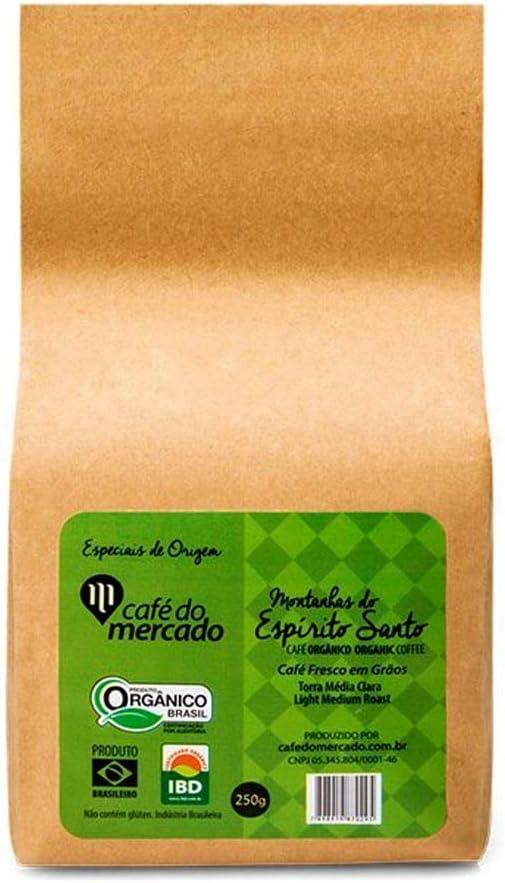 Café Orgânico Montanhas do Espírito Santo grãos 250g