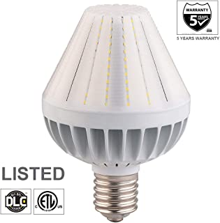 60W LED Corn Light Bulb, Large Mogul E39 Base, 5000K, 360° Street/Garden Lighting Replacement for 175W to 400W Metal Halide Bulb, HID, CFL, MH,HPS(UL-Listed)