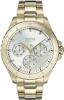 Hugo Boss Reloj Multiesfera para Mujer de Cuarzo con Correa Bañada en Oro 1502445
