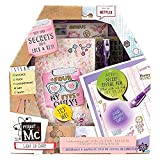 Project MC2 Light Up Diary with Invisible Ink by Horizon Group USA, Keep Your Secret Diary, Journal Safe Under Lock & Key, Write using Invisible Ink, Decorate with Stickers & More