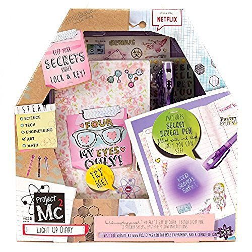 Project MC2 Light Up Diary with Invisible Ink by...
