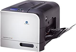 Konica Minolta magicolor 4650EN - Printer - color - laser - Legal, A4 - 9600 dpi x 600 dpi - up to 24 ppm (mono) / up to 24 ppm (color) - capacity: 350 sheets - Parallel, USB, 1000Base-T, direct print USB
