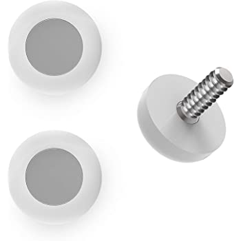 KeySmart KeyCatch - Modern Magnetic Key Rack Organizer, Screws Into Lightswitch Panel (3 Pack)