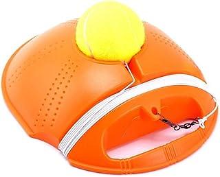 Gayrrnel Tennis Trainer Rebounder Ball, Outdoor Tennis Trainer with Imitation Tennis Design, Perfect Solo Tennis Trainer - Rebound Baseboard Fit for Tennis Beginner Training