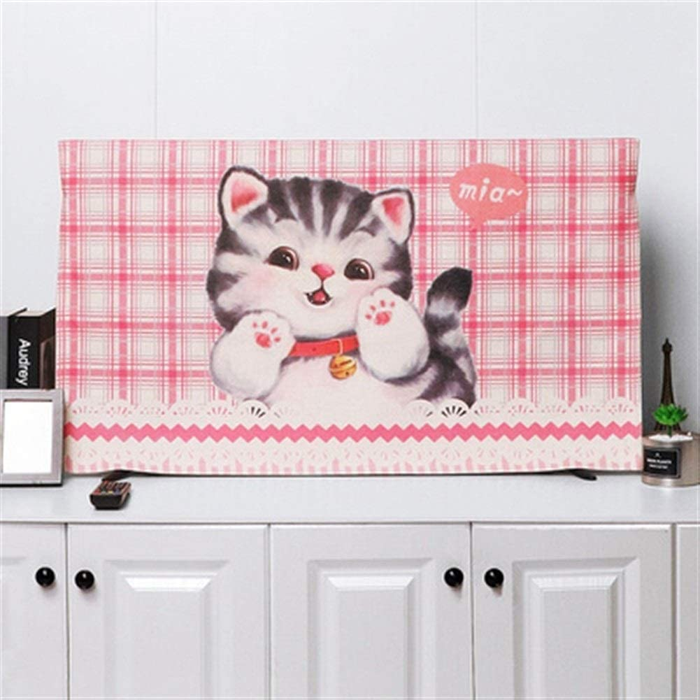 zhangmeiren TV Challenge the lowest price of Japan ☆ Cover dust Household Our shop most popular inches 55 Cloth Linen