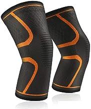 NXANJIA cfslp 1 paar elastische kniebeschermers nylon sport fitness kniebeschermer fitnessuitrusting brace hardlopen baske...