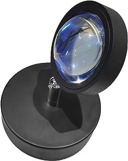 pEGONE Lampe De Projecteur Coucher De Soleil, 360 DegréS Lampe De Projecteur Led Coucher De Soleil, Le Soleil Ne Se Couche...