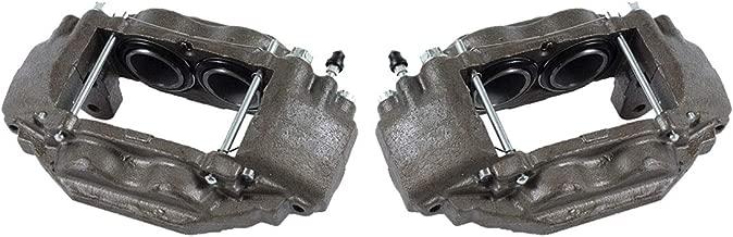 CCK01506 [ 2 ] FRONT Premium Grade OE Semi-Loaded Caliper Assembly Pair Set