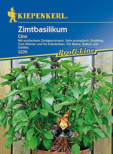 Basilikum-Saatgut: Zimtbasilikum 'Cino', Ocimum basilicum - 1 Portion