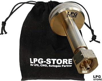 Adaptador LPG-Store LPG GPL para gas de coche, adaptador para ...