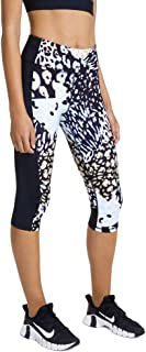 Rockwear Activewear Women's Urban Jungle 3/4 Print Panel Tight from Size 4-18 for 3/4 Length Bottoms Leggings + Yoga Pants...