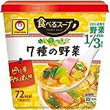 マルちゃん 食べるスープ 7種の野菜 ピリ辛ちゃんぽん味(1コ入)