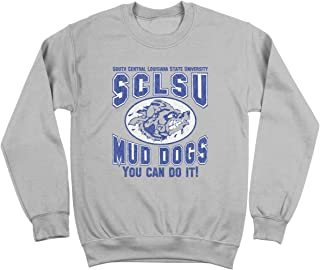 Funny Threads Outlet You Can Do It Mud Dogs Crewneck Sweatshirt