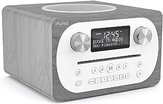 Pure Evoke C-D4 All-in-One Music System with DAB/DAB+/FM Digital Radio – DAB Radio with Bluetooth Music Streaming, Dual Al...