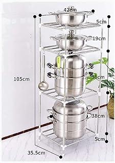WSCC Grille de Four à Micro-Ondes Finition de Cuisine en Acier Inoxydable Porte Grande capacité Multilayer Micro-Ondes Sup...