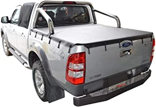 Ford Ranger PJ XLT, PK XLT (2007 to Oct 2011) Double Cab with Factory Sports Bars Bunji Tonneau Cover